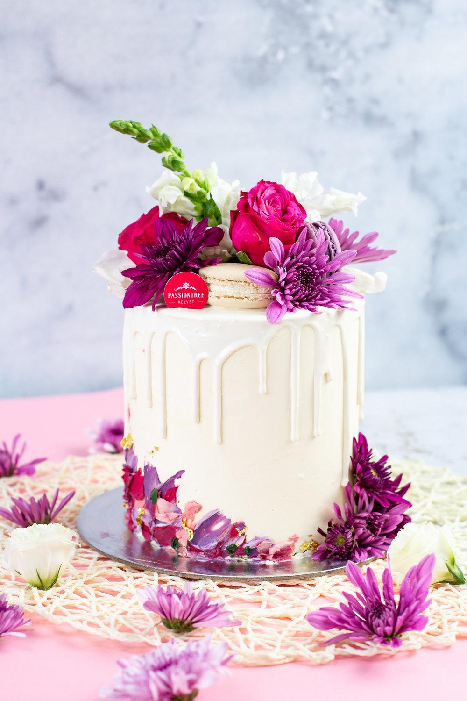 Violet Bloom Passiontree Velvet Mother's Day
