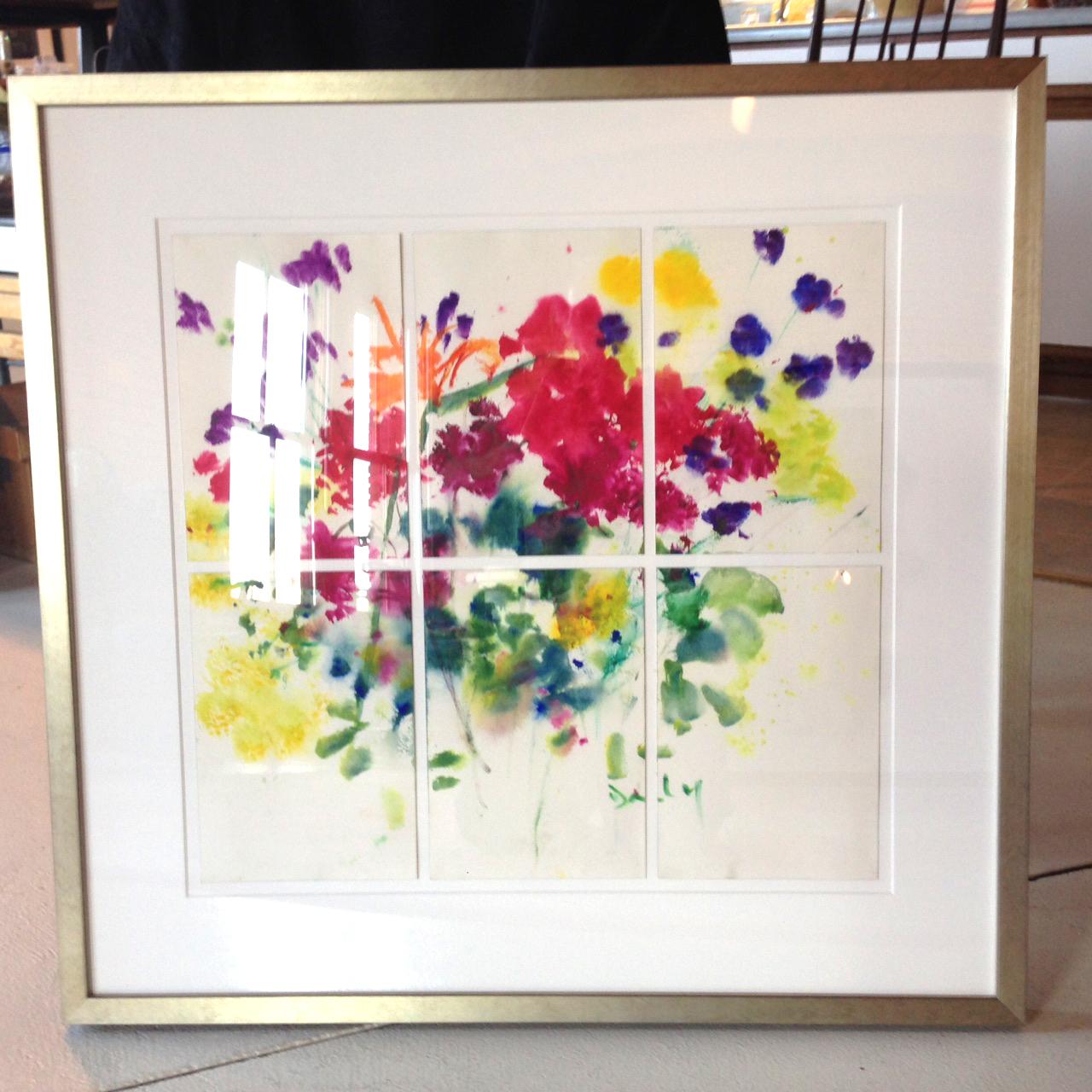 Beautiful Framing Watercolors Ideas - Framed Art Ideas ...