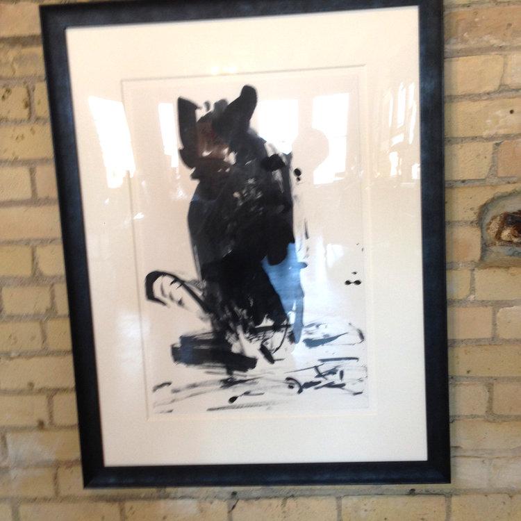 Top Cat!-framed original — Michael Daly Watercolors