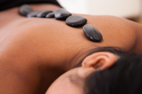 Hot Stone Massage - Hot Stone MassageThe application of deep, penetrating heat using warm basalt stones. This treatment relieves aches, pains, and muscle spasms while increasing joint flexibility and blood circulation. The stones are used both stationary and in motion.IDEAL FOR:RelaxationStress reliefDecreasing muscle painIncreasing circulationNOT RECOMMENDED for clients who are pregnant or have high blood pressure.1hr - $1151.5hrs - $140