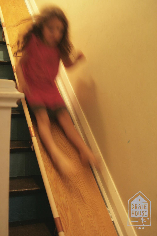 Handrail Surprise Drole House