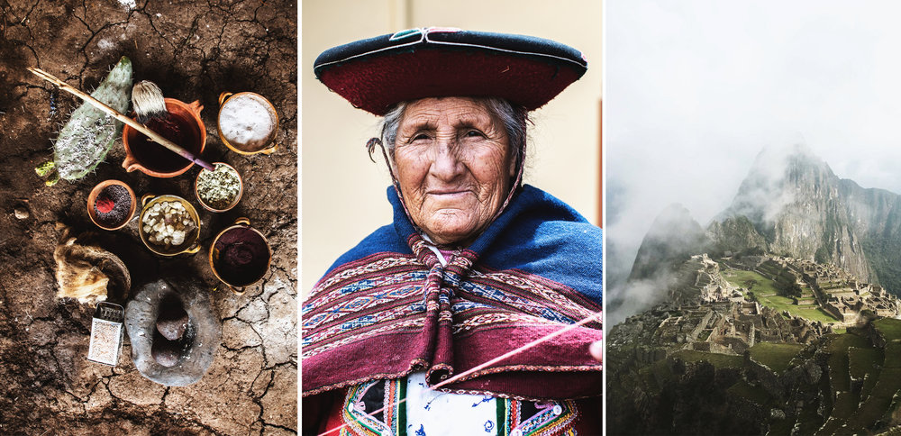 Textiles & Personas de Cusco,  Peru