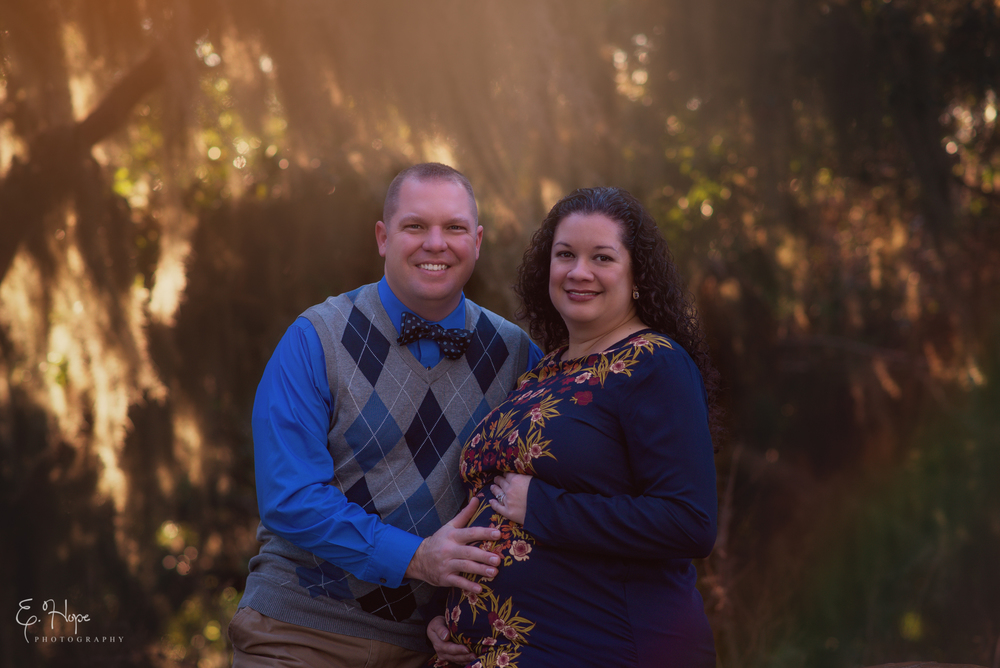 Safety Harbor Maternity Session with the Grantham's