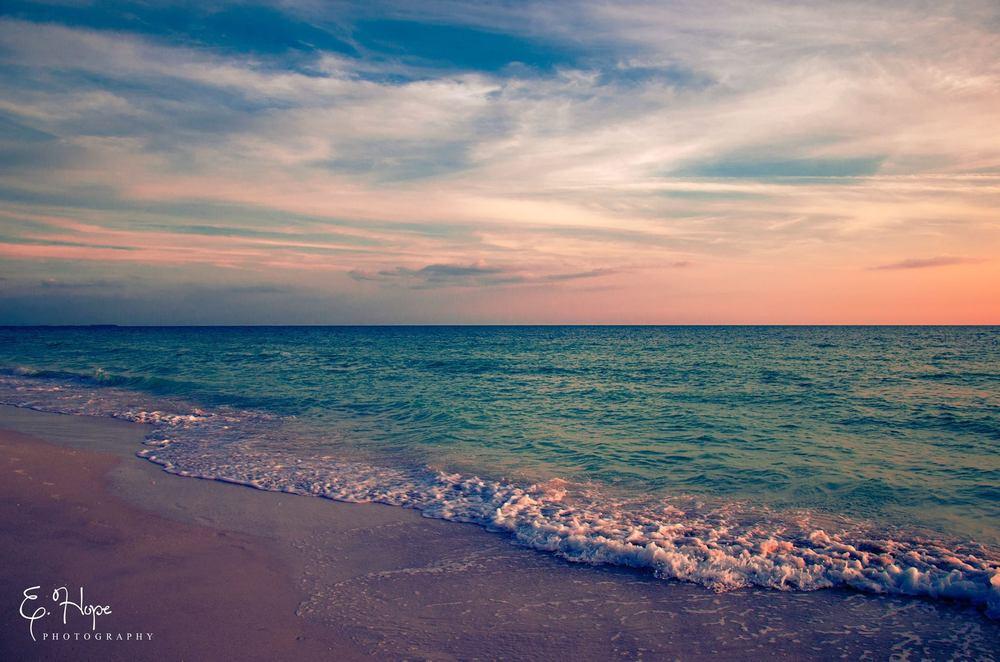 sunset on Redington Beach