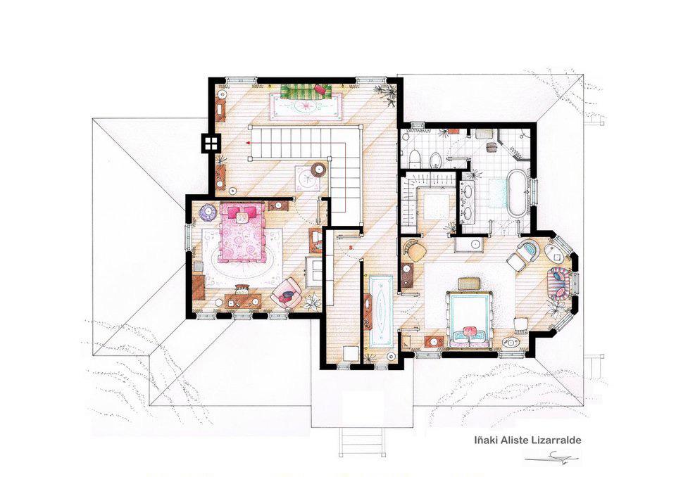 Gilmore Girls - Second Floor Plan.jpg
