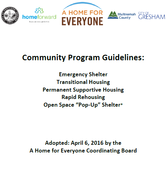 Read: AHFE Community Program Guidelines