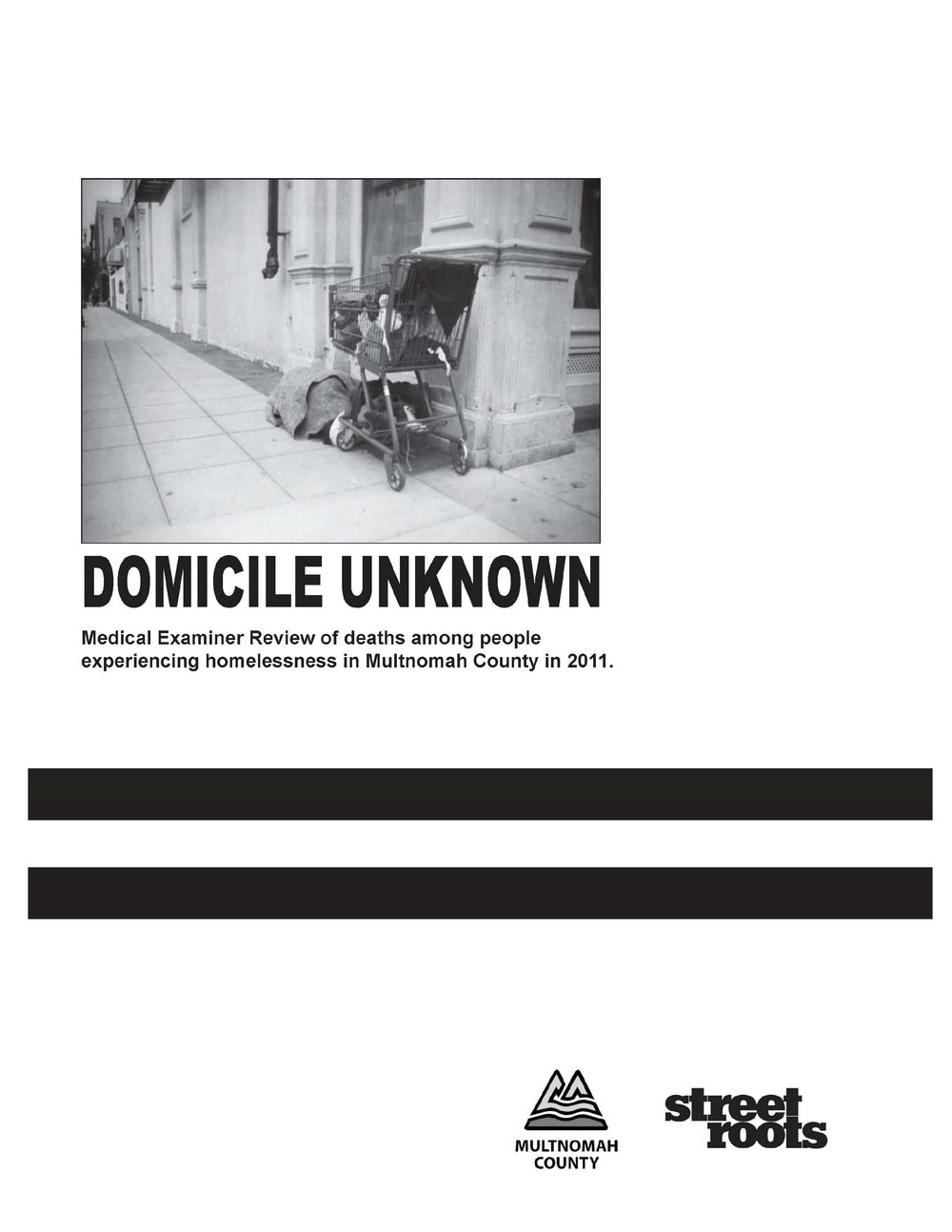 2011 Domicile Unknown Report