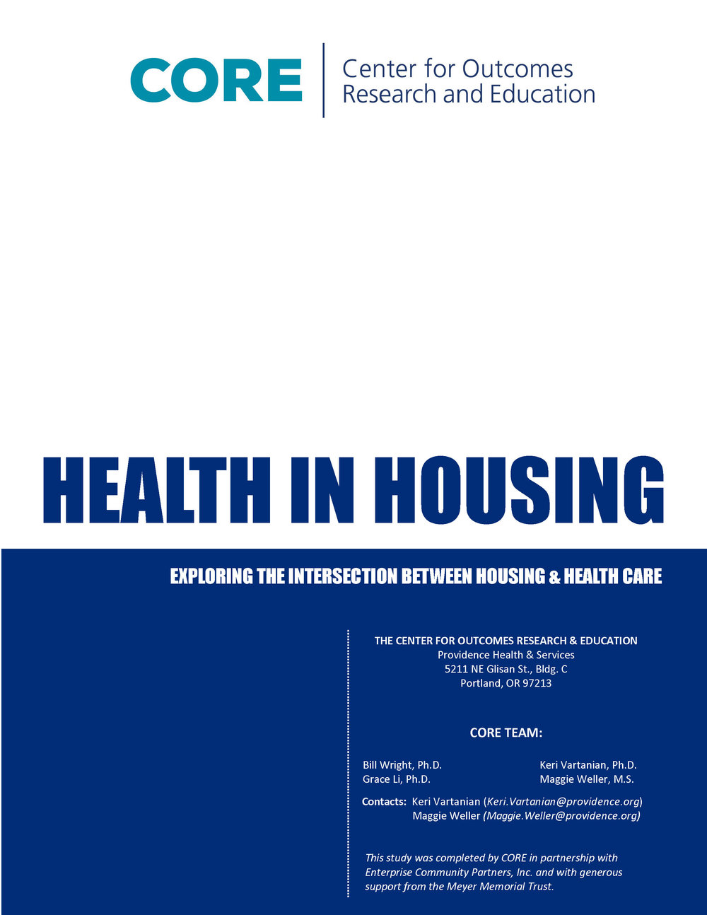 Health in Housing Report, February 2016