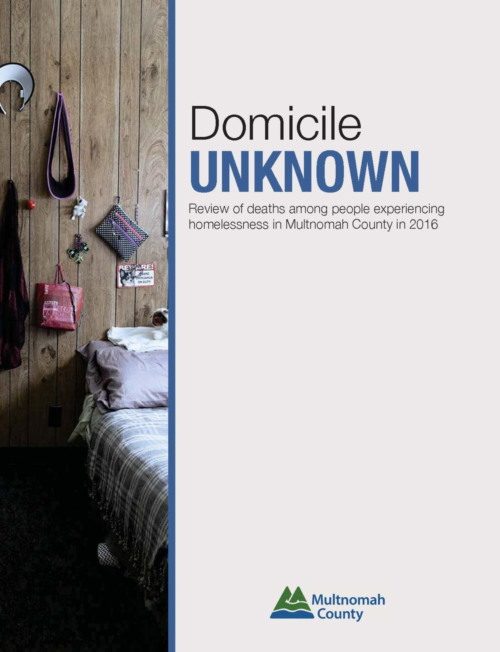 2016 Domicile Unknown Report