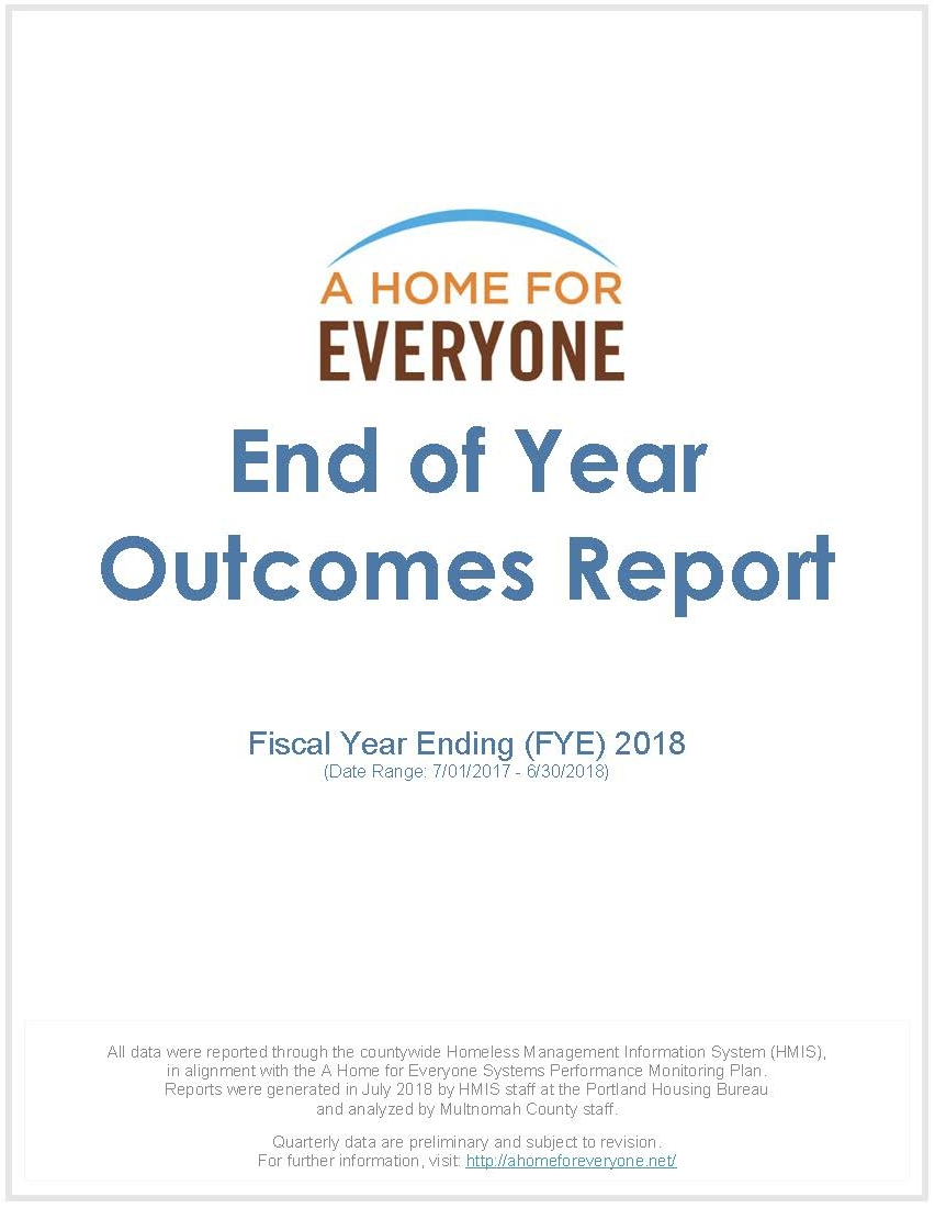 Year-end report, Fiscal Year 2018