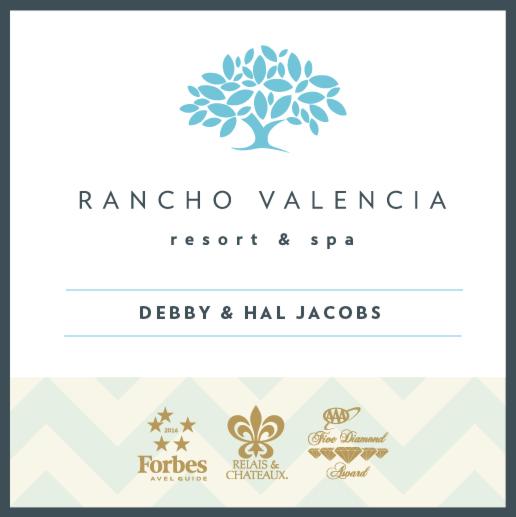 An image of the Rancho Valencia Resort & Spa logo.