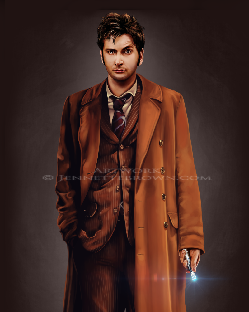 Tenth Doctor Portrait