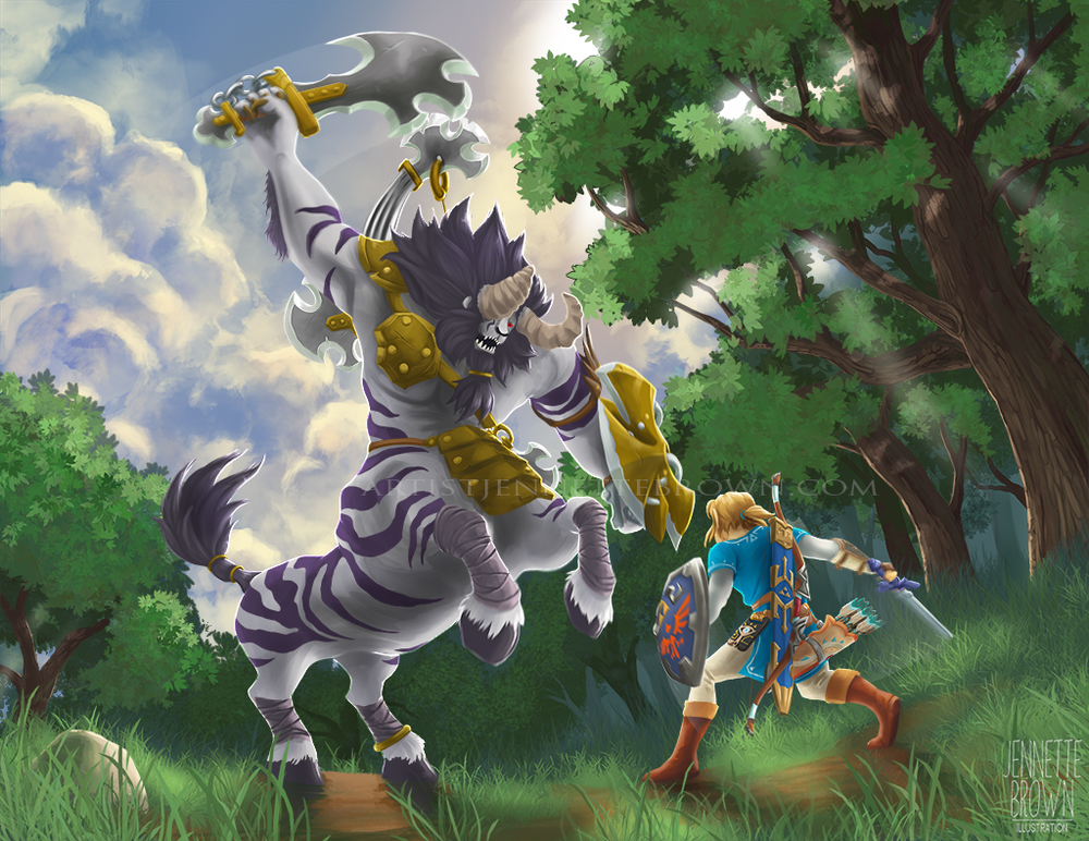 BotW Lynel Fight_2.png