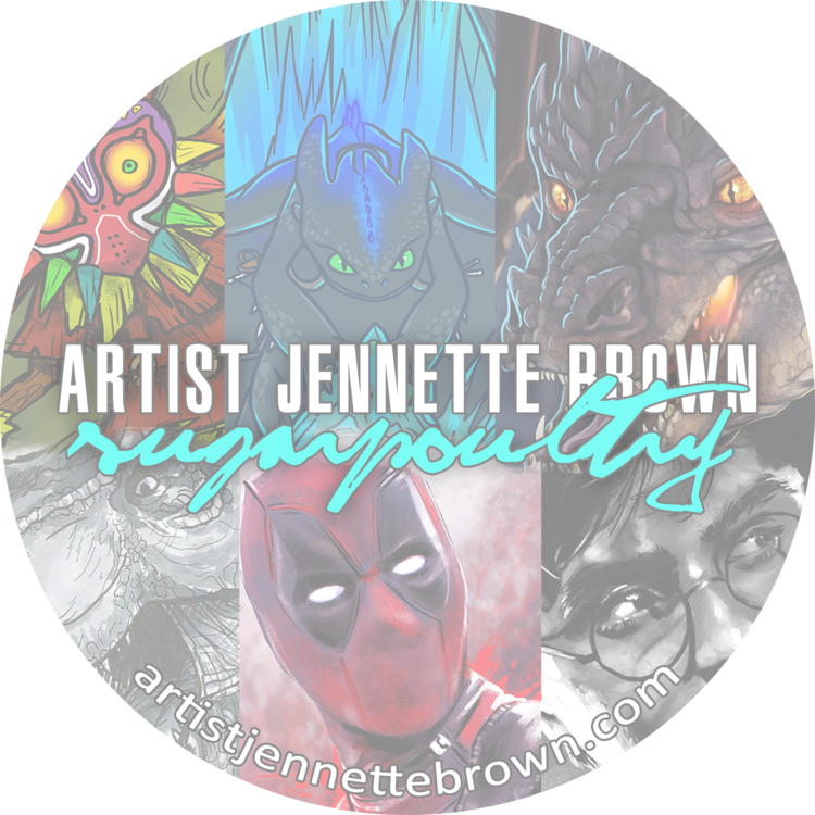 Artist Jennette Brown