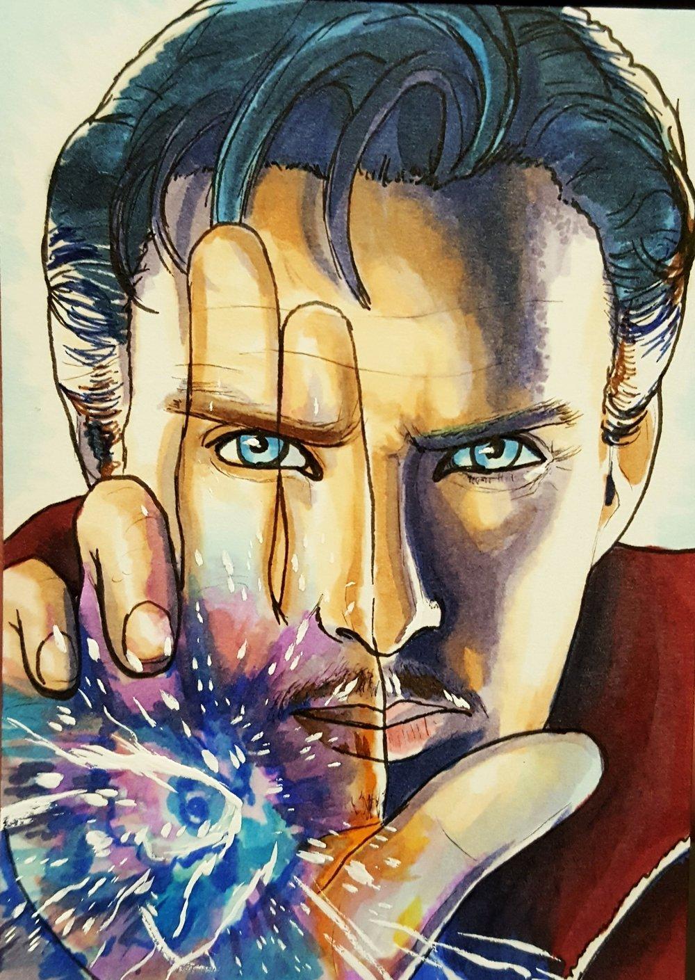 Doctor Strange (Copics)