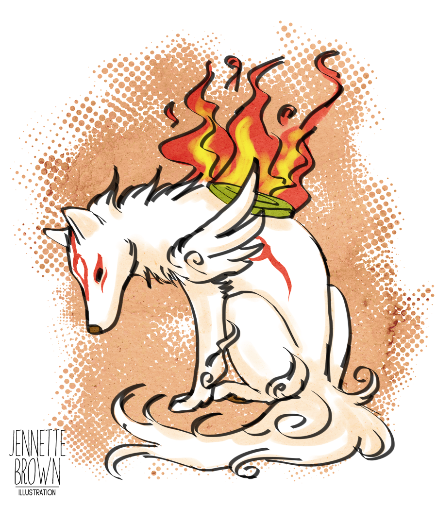 Okami Fan Art.png