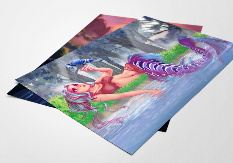 Prints & Posters - High quality gloss, museum quality finish. 8x10, 11x14, 12x18, 16x20, and 18x24!