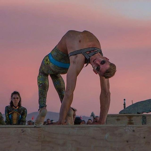 Snapshot from the Rite of Spring at the @treeoftenere2017 #contortion #backbend #flexibility photo by Mark Barzman