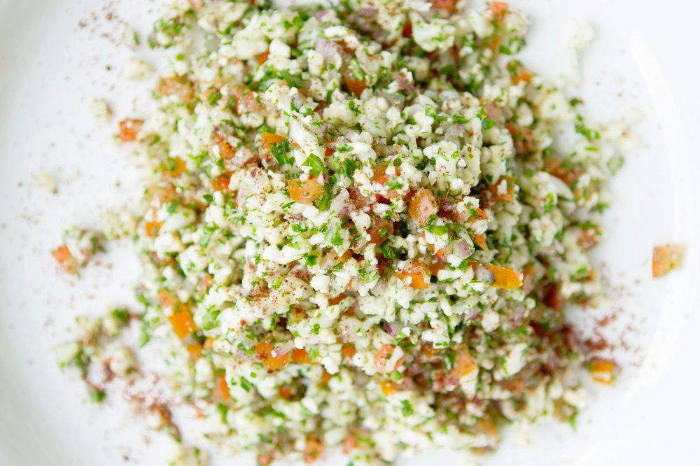 CAULIFLOWER TABBOULEH - *VEGAN*