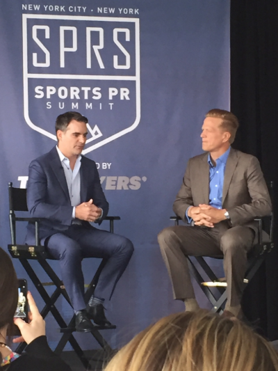 Jeff Gordon discusses the power of social media at the Sports PR Summit