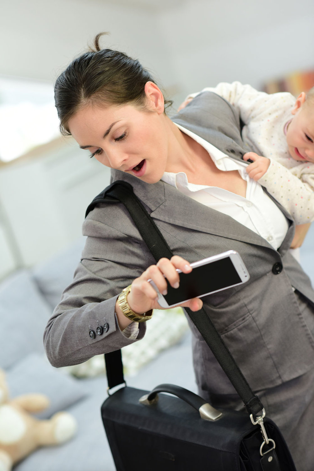 Parents are busier than ever, and these days best reached by phone app.
