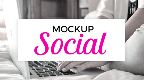 Learn the basics of planning and creating your social media graphics using Photoshop mockups and templates. www.sarahdesign.com
