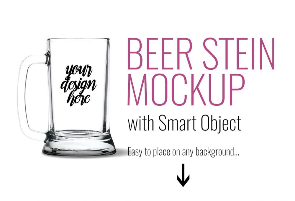 Beer Stein Mockup