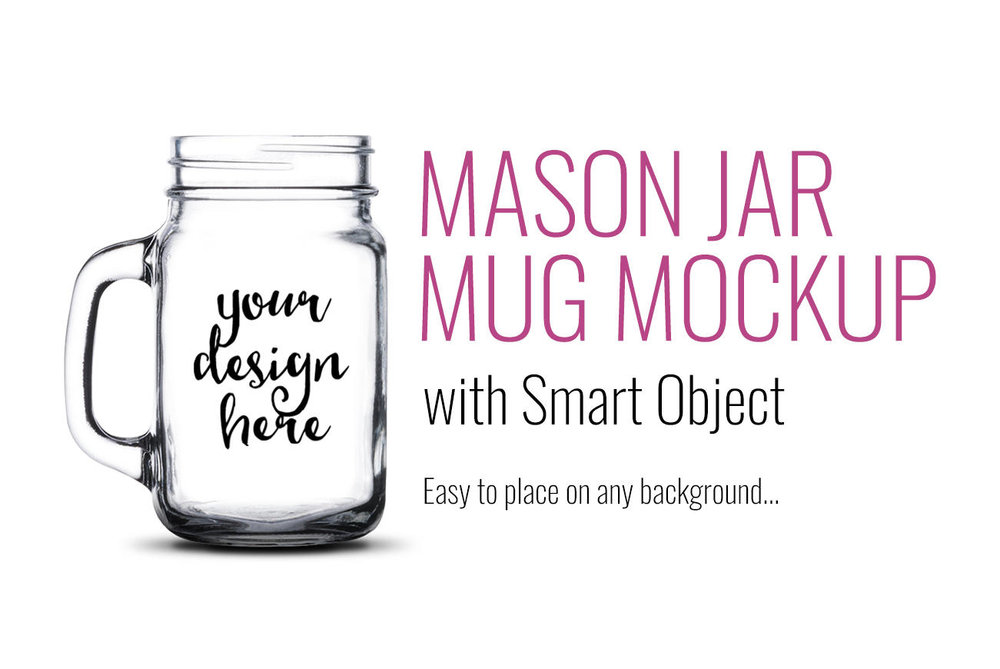 Mason Jar Mockup by SarahDesign