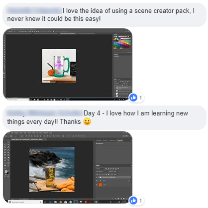Photoshop 101 Challenge - Make Your First Mockup Testimonials 3