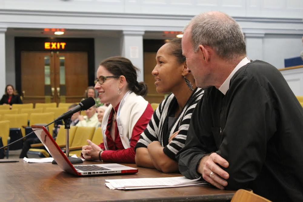 MAICCA leaders testify at a hearing on the energy transition in October, 2015.