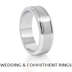 WEDDING & COMMITMENT BANDS