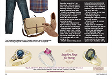 Style Magazine, September 2012