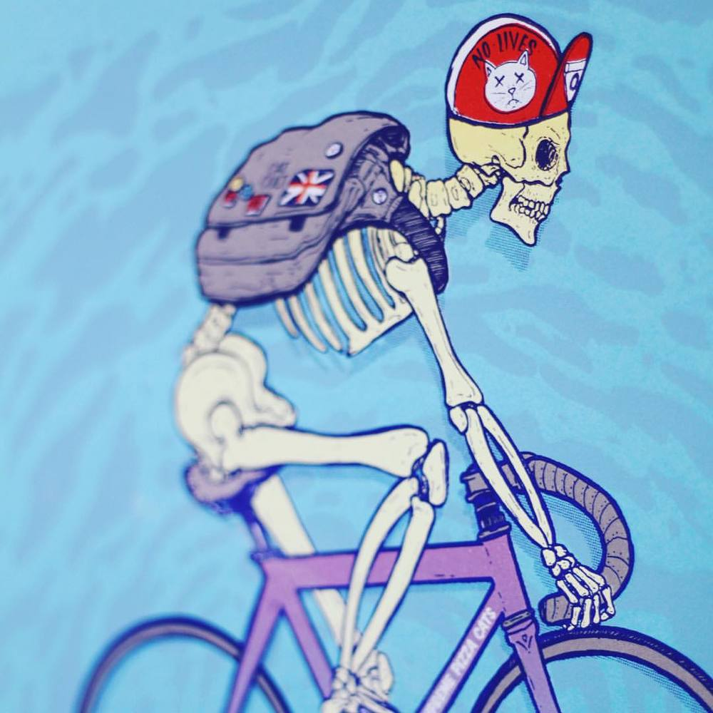 Little detail of the new print it n the online shop. #artcrank