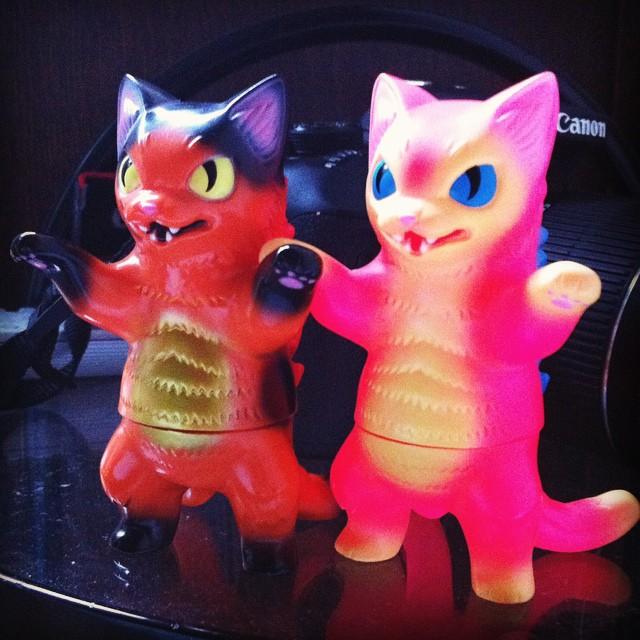 FINALLY! got some #negora for my #cat collection. #kaiju #maxtoy #konatsuya