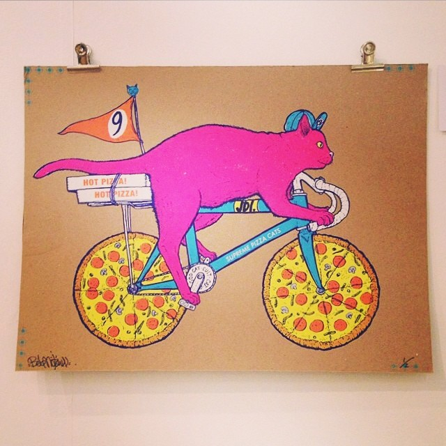 A very rare variant from #artcrank last year. ArtCrank LDN 2014 is going down this Friday & Saturday so save the date!