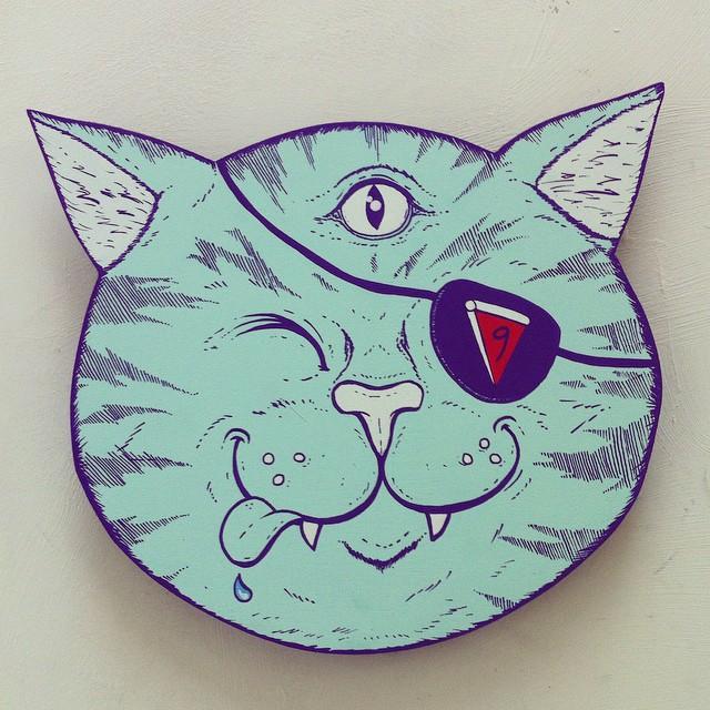 #supremepizzacats #9livescrew @supremepizzacats1 @squidinkkollective #catclique