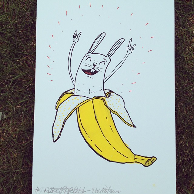 🐇🍌 bananarabbit! #projectrabbit