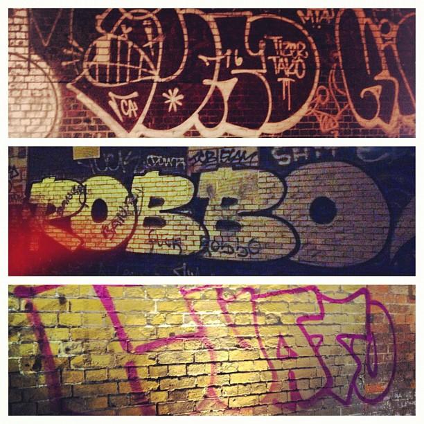 Toro. Robbo. Kuato. #saturdaymorningGRAFFroundup #TEAMROBBO #kuatolives #torotakesovertheworld (Taken with  Instagram  at London)