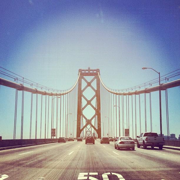 Back 2 the Bay.  (Taken with  Instagram  at San Francisco-Oakland Bay Bridge)