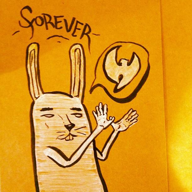 👐 forever (Taken with  Instagram )
