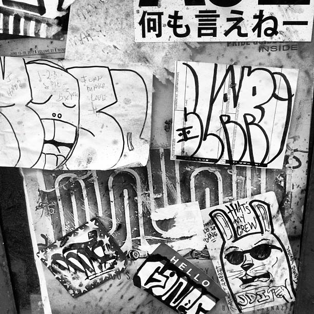 #jdi #slaps #stickers #streetart #grafflife #SF #muni  (Taken with  Instagram )