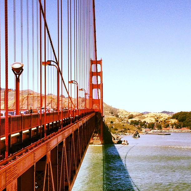 The symbol of California! (Taken with  Instagram  at Golden Gate Bridge)