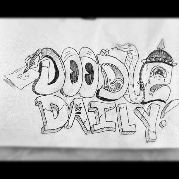 Doodle Daily! #dailydoodle (Taken with  instagram )