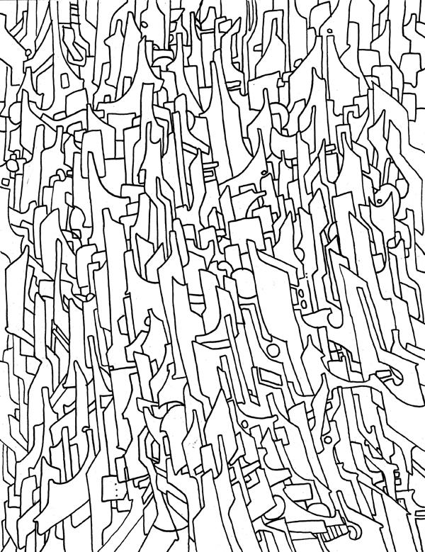 Bits of stuff I drew once…
