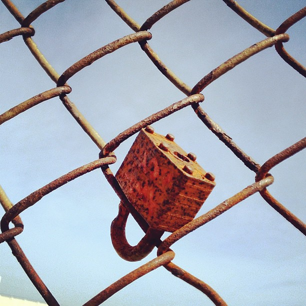 Keep it locked!  (Taken with  instagram )