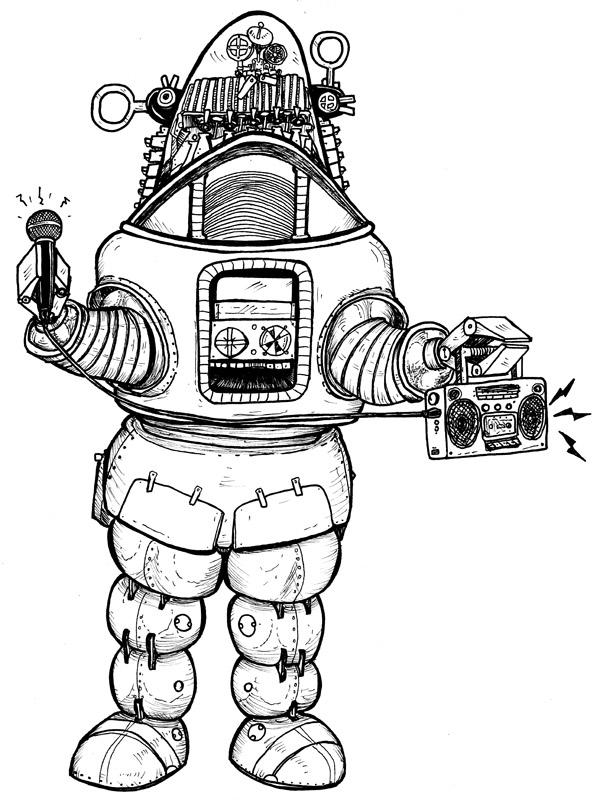 Hip Hop Robot!