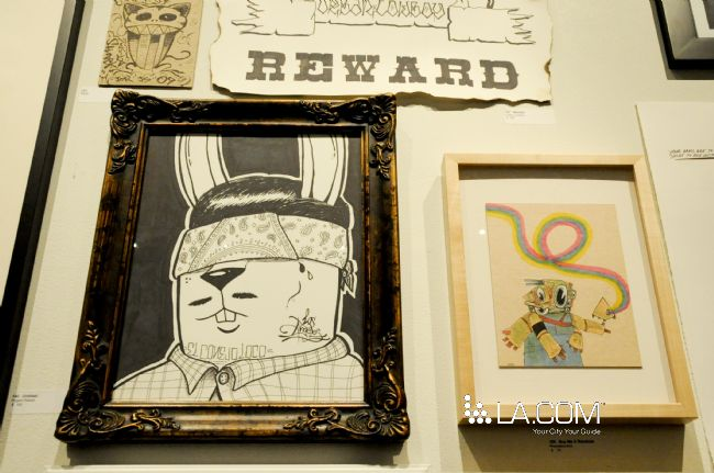 Conejo Loco! Project Rabbit 2010. Sharpie Show, Crewest Gallery.