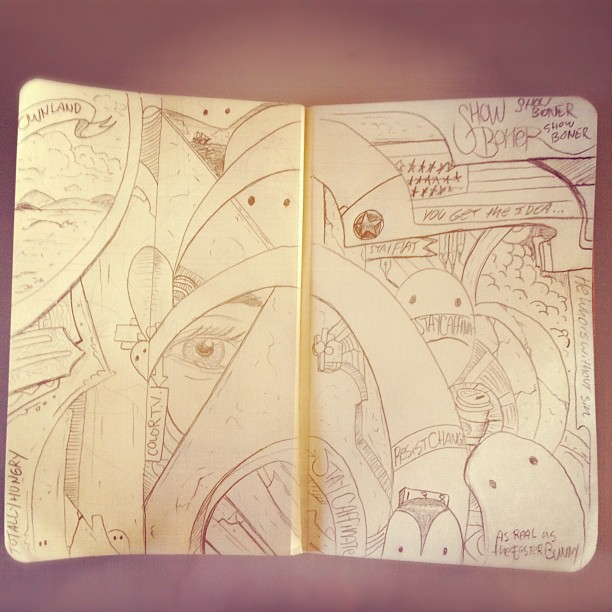 Note book  (Taken with  instagram )
