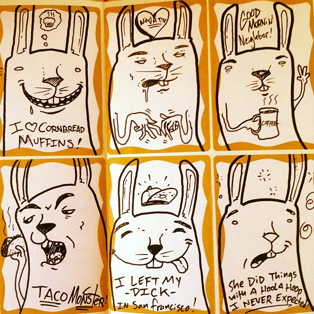 Project Rabbit Stickers circa '09