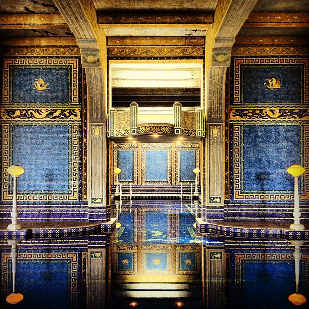 I wish I was rich… (Taken with  Instagram  at Hearst Castle Indoor Pool)